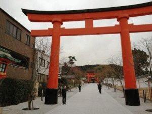 ворота тории фото япония
