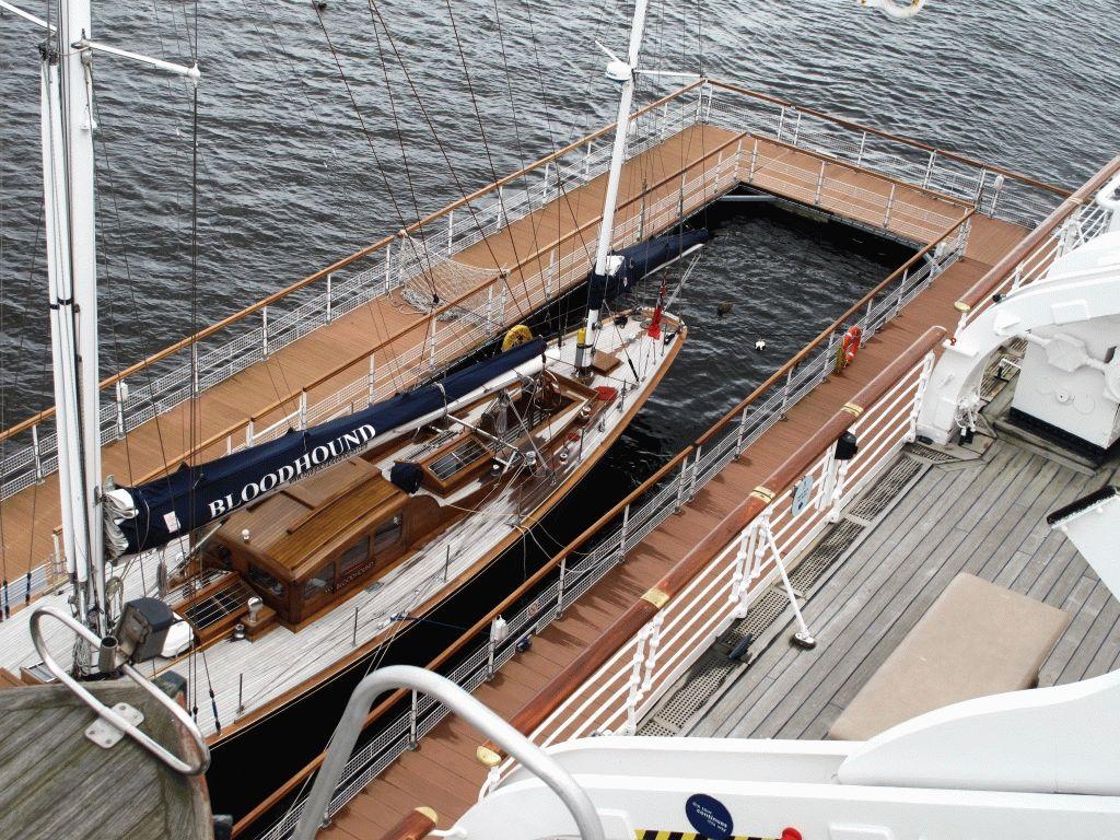 фото королевская яхта британния
