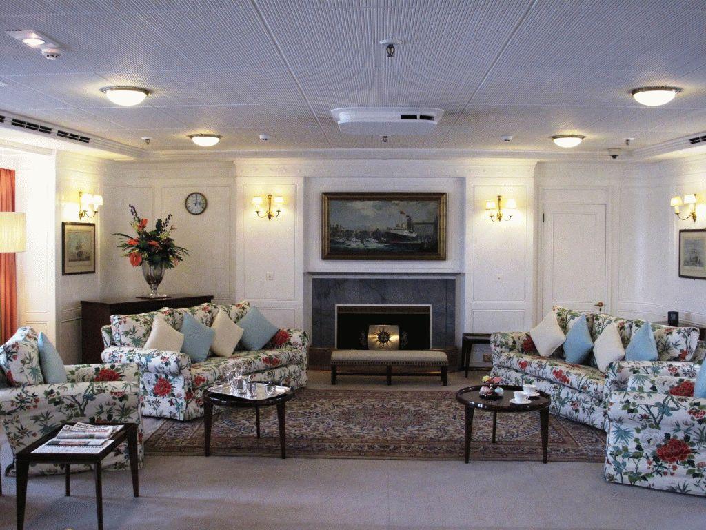 официальный зал приемов фото королевская яхта британния