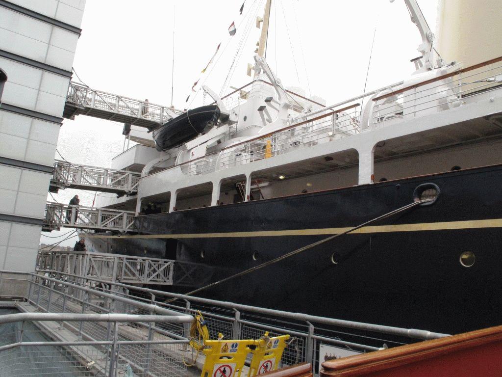 королевская яхта британния фото