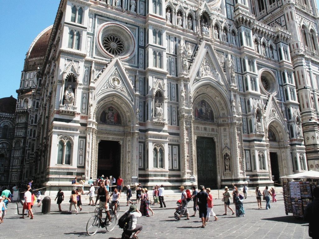 фото собор Дуомо Флоренция снаружи
