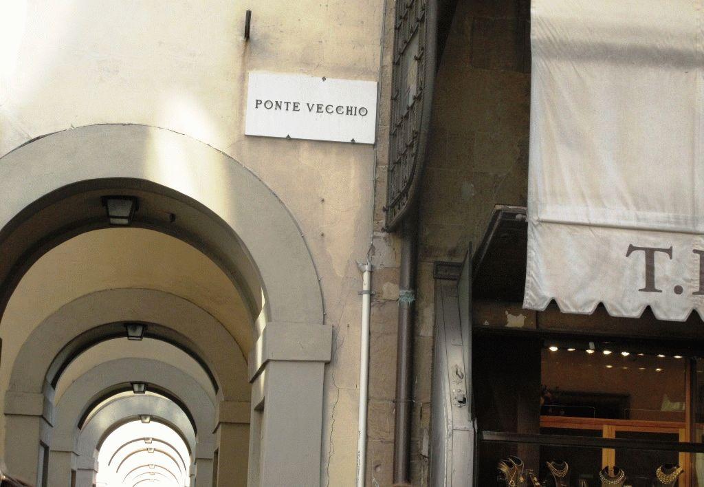 Il Ponte Vecchio (Старый мост) во Флоренции фото