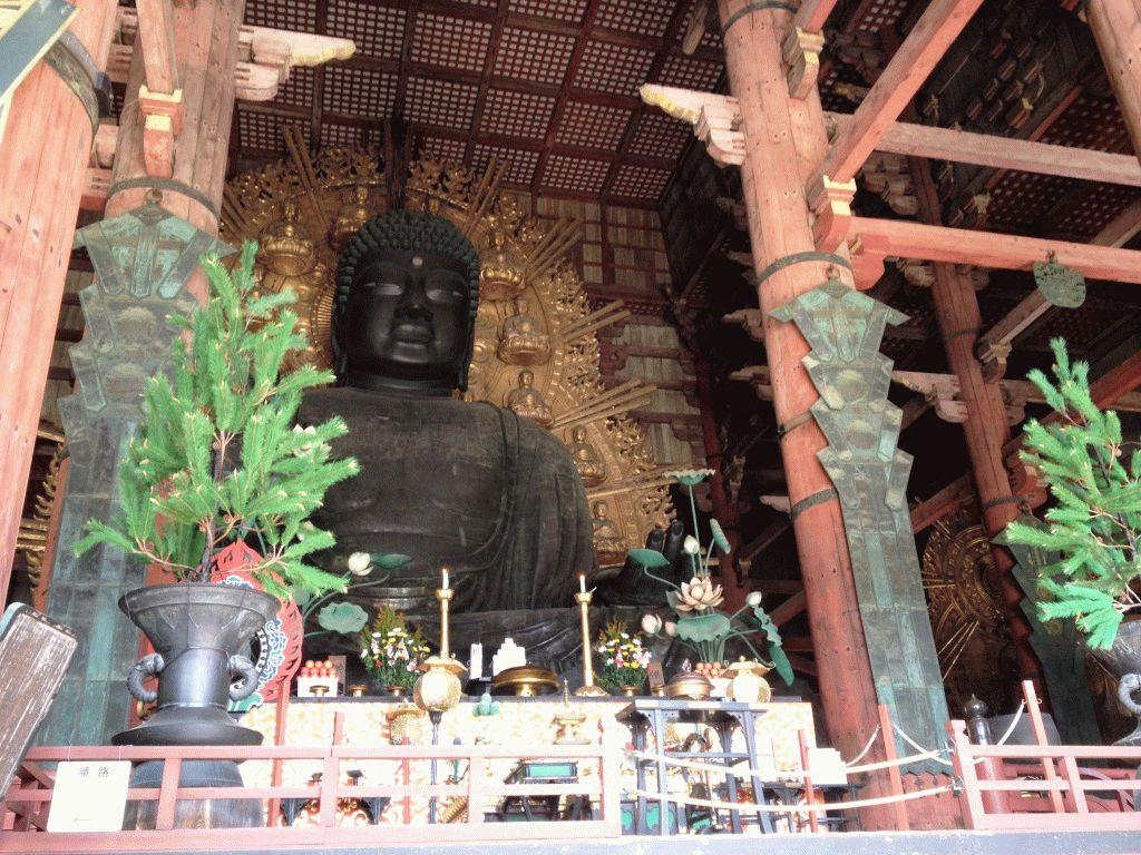 15-метровый Будда нара фото