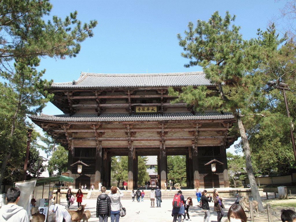 Нара, Япония – фото храмов древней столицы