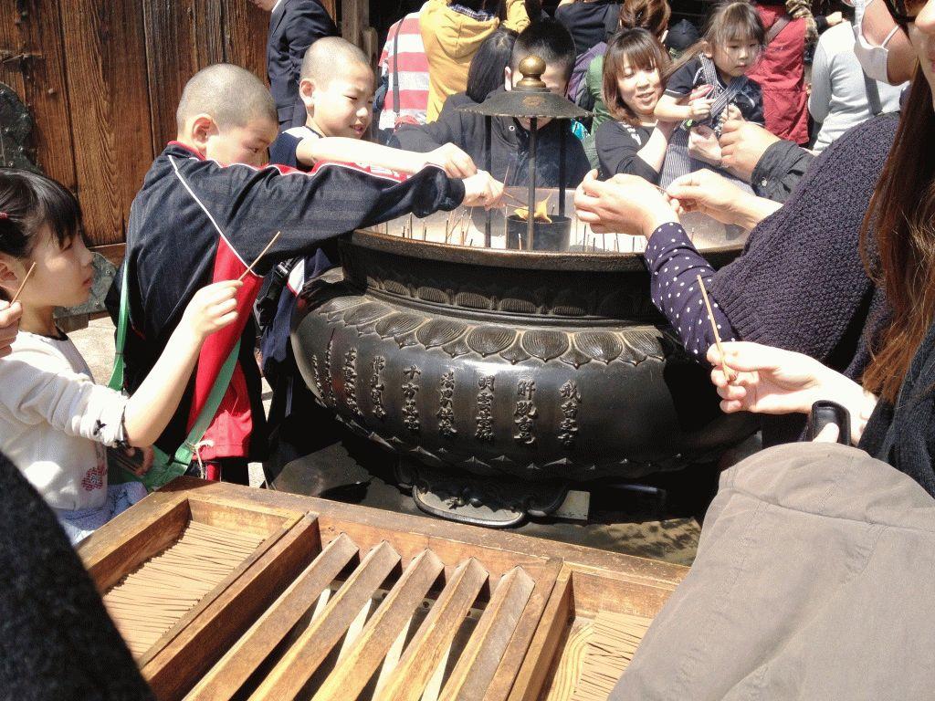 нара япония туристы фото