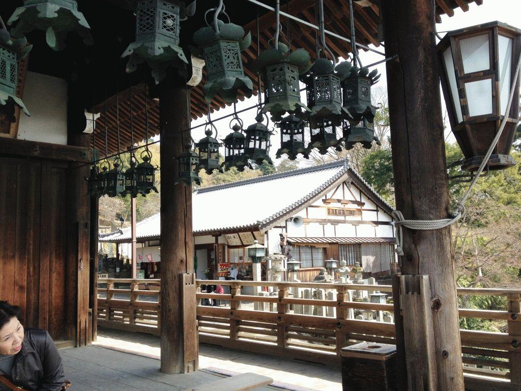 храмы Нара Япония фото
