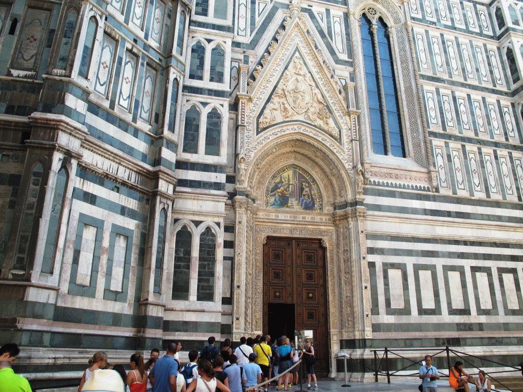 Очереди в Дуомо, Флоренция фото