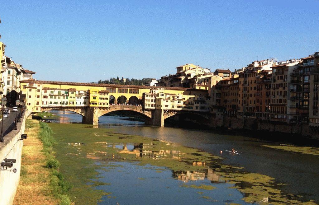 Золотой мост Флоренции фото