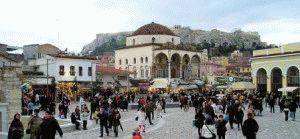 Монастираки Афины Греция фото