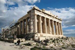 Парфенон Афины фото
