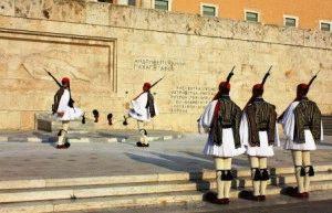 Площадь Синтагма Афины Греция фото
