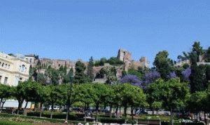 Крепость Алькасаба Малага фото