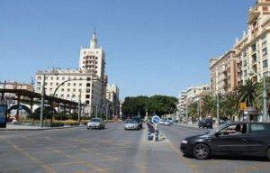 Малага прогулка по центру города фото