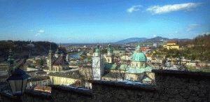 С детьми в Зальцбург (Австрия)  город Моцарта фото