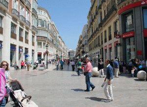 Улица Лариос Малага фото