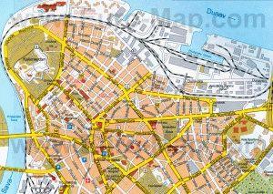 Карта Белград Сербия скачать