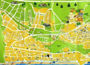 карта Торремолинос Коста дель Соль Испания