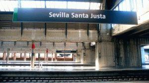 вокзал Санта-Хуста Севилья фото