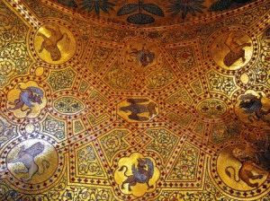 Палермо Мозаика в капелле Палатина фото