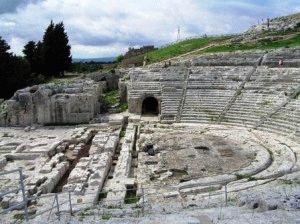 греческий театр сиракузы фото