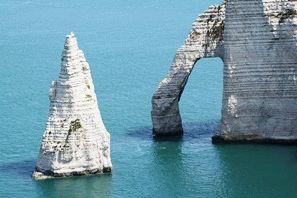 Этрета Франция белые скалы фото
