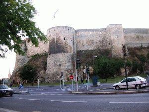 Кан (Caen) Франция крепость фото