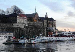 крепость Акерсхус осло фото