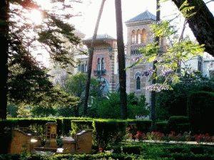 Севилья парк Марии-Луизы фото