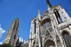 Руан собор Нотр-Дам фото Франция
