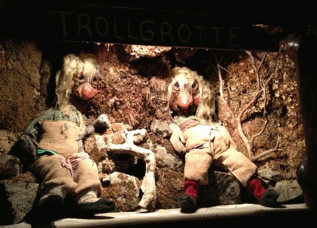 музей троллей норвегия фото