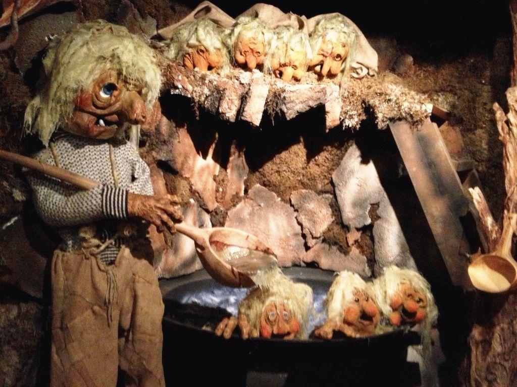 музей троллей северная норвегия фото
