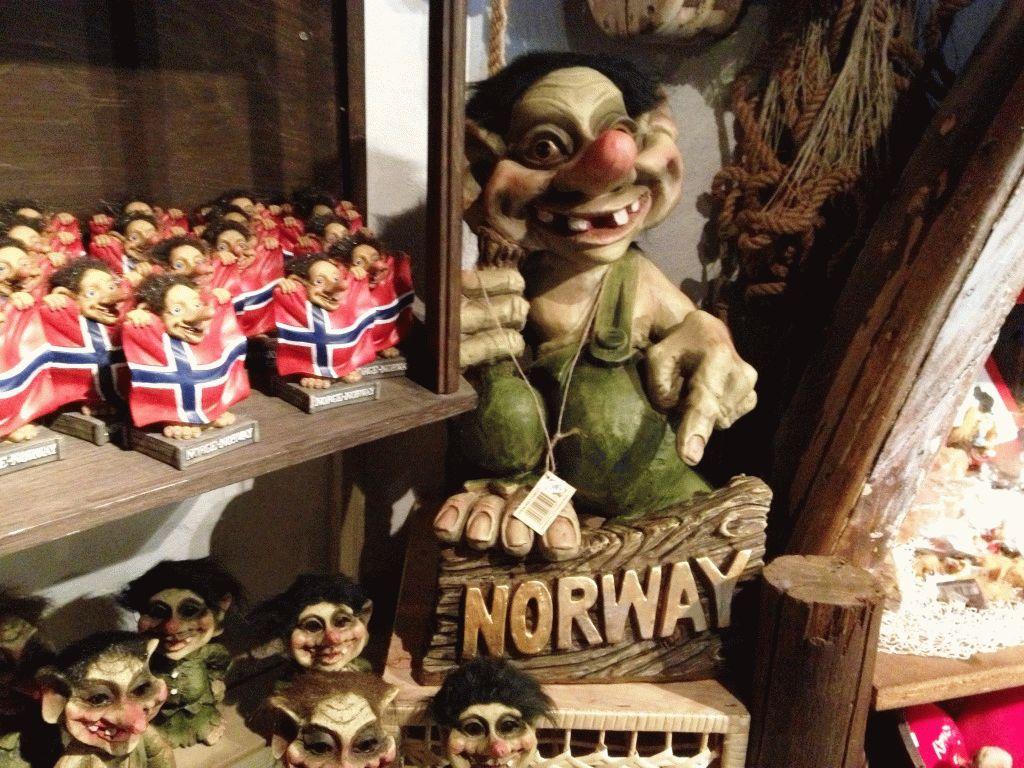 сувениры Норвегия Тролль фото