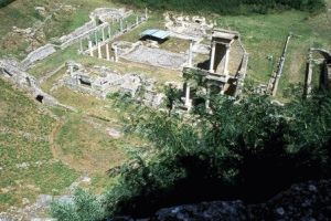 римский амфитеатр вольтерра фото