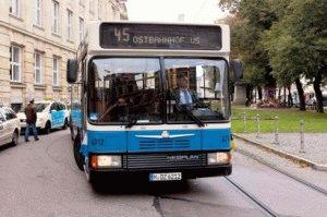 Общественный транспорт города Мюнхен фото