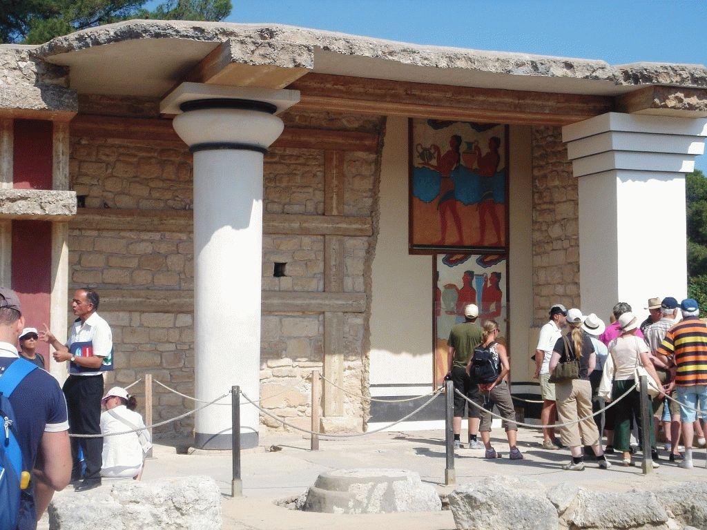 Кносский дворец на крите история фото
