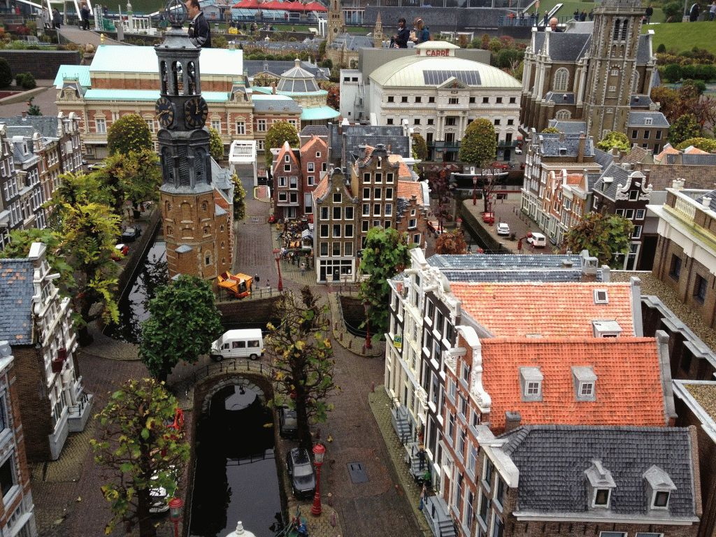мадуродам парк миниатюр голландия фото
