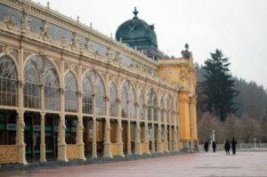 город Марианские Лазни Чехия фото