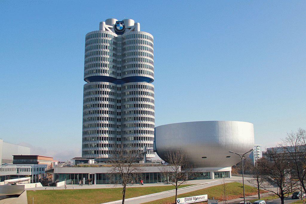 Мюнхен, Музей БМВ – как добраться фото