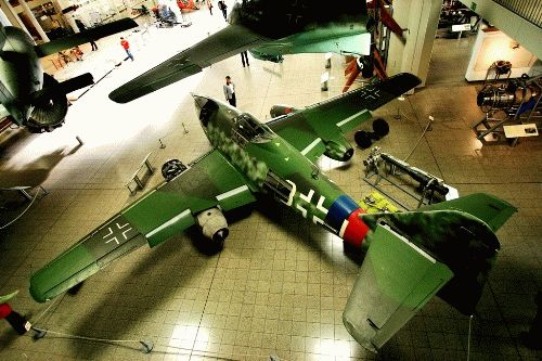 самолеты немецкий музей техники фото