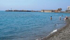 иерапетра фото крит пляж Ливийское море