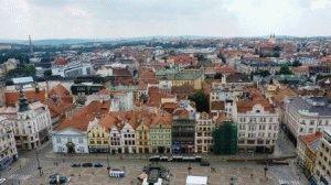 Город Пльзень Чехия фото