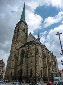 собор Святого Варфоломея Пльзень достопримечательности фото