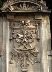 площадь Рыцарей Мальтийского Ордена Рим фото деталь