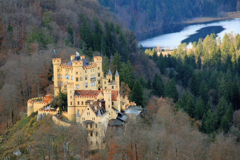 Замок Хоэншвангау фото