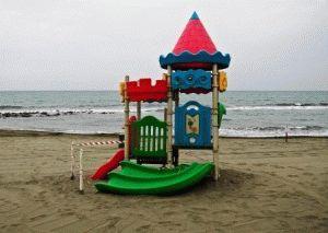 Лидо ди Остия пляж фото