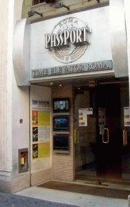 Time Elevator Rome фото как добраться в кино в Риме