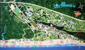 Албена Болгария карта города фото