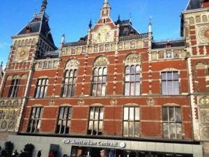 Amsterdam Centraal вокзал Амстердам фото