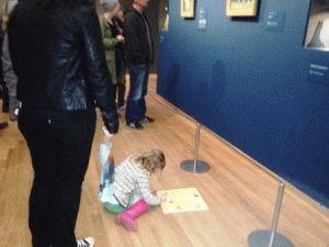 Для детей в музее ван гога в амстердаме