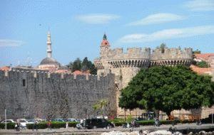 город Родос крепость фото